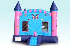 Flower Power Bounce House - Rental Price: $100