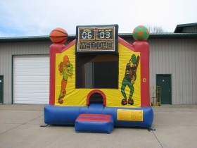 Sports Bounce House - Rental Price: $100