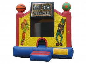 Sports Bounce House - Rental Price: $105