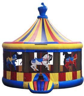 Carousel Bounce House - Rental Price: $130