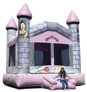 Princess Castle Bounce House - Rental Price: $105
